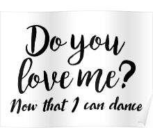 Dirty Dancing - Do you love me Poster