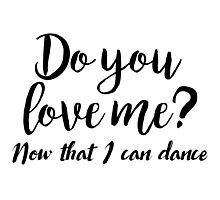 Dirty Dancing - Do you love me Photographic Print