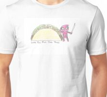 Love and Tacos Unisex T-Shirt