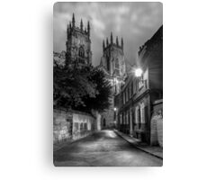 York Minster Presentors Court Canvas Print