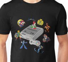 SNES Personajes Unisex T-Shirt
