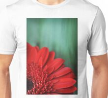 Red Gerbrea Unisex T-Shirt
