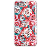 Lovely rose pattern graphics iPhone Case/Skin