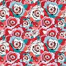 Lovely rose pattern graphics by Tanor