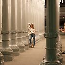 URBAN LIGHT AT LACMA by Gilad