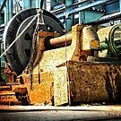Industrial Machine on Cockatoo Island/Sydney/NSW/Australia (4) by Wolf Sverak