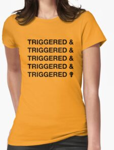 TRIGGERED & (ect.) Womens Fitted T-Shirt