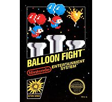 Balloon Fight Photographic Print