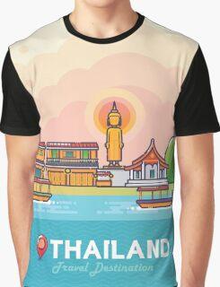 Thailand Travel Destination Concept Graphic T-Shirt