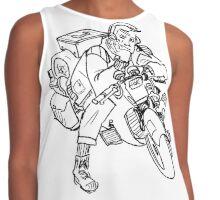 biker boy Contrast Tank
