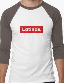 Latinas Men's Baseball ¾ T-Shirt