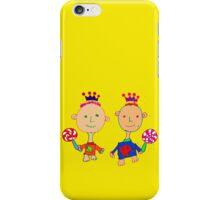 Kingsley and Kenzo iPhone Case/Skin