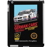 Retro German Entertainment! iPad Case/Skin