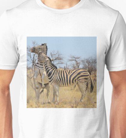 Zebra Fight - African Stallions Unisex T-Shirt