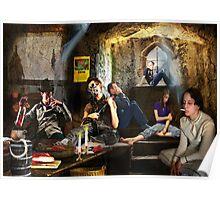 The Subterranean Doomsday Prepper's Blues Poster