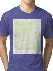 USGS TOPO Map Arkansas AR Poyen 259444 1964 24000 Tri-blend T-Shirt