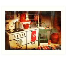 Once Upon a Time There Was a Kitchen....  Art Print
