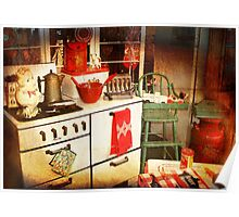 Once Upon a Time There Was a Kitchen....  Poster