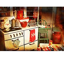 Once Upon a Time There Was a Kitchen....  Photographic Print