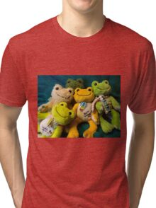 attack of pickles Tri-blend T-Shirt