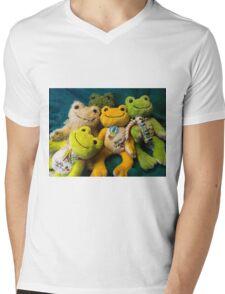 attack of pickles Mens V-Neck T-Shirt
