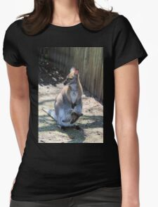 Roo two Womens Fitted T-Shirt