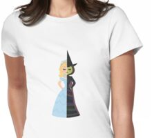 Glinda & Elphaba Womens Fitted T-Shirt