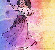 Esmerelda - No 1 - The Disney Series by annaliesegreene