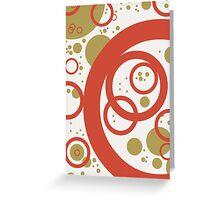 abstract vector - Interaction - Greeting Card