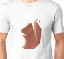 Origami Squirrel Unisex T-Shirt