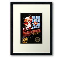 Super Mario Bros Framed Print