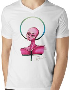 Femininity Mens V-Neck T-Shirt