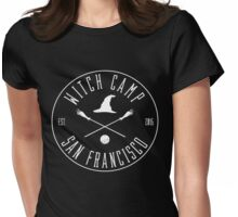 Witch Camp Commemorative Memorabilia San Francisco Womens Fitted T-Shirt