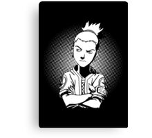 shikamaru active Canvas Print