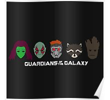Simple Guardians of the Galaxy Poster