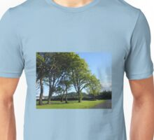 Row of Trees, Lews Castle Grounds, Stornoway Unisex T-Shirt