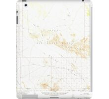 USGS TOPO Map Arizona AZ Childs Valley 314466 1965 62500 iPad Case/Skin
