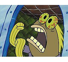 CHOCOLATE - Spongebob Photographic Print