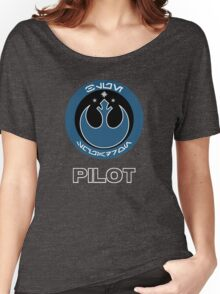 Blue Squadron Women's Relaxed Fit T-Shirt