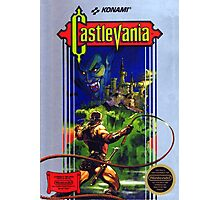 Castlevania NES Cover Photographic Print