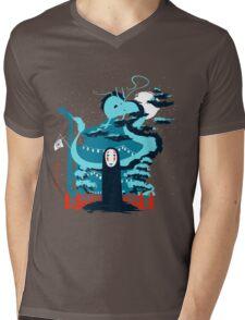 Wonderful World Mens V-Neck T-Shirt