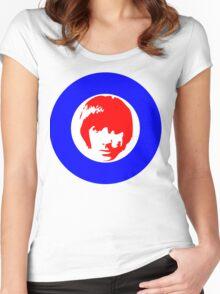Drummer Mod Target T-Shirt Women's Fitted Scoop T-Shirt