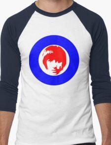 Drummer Mod Target T-Shirt Men's Baseball ¾ T-Shirt