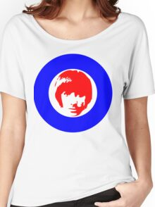 Drummer Mod Target T-Shirt Women's Relaxed Fit T-Shirt