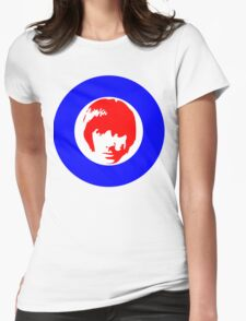 Drummer Mod Target T-Shirt Womens Fitted T-Shirt