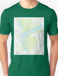 USGS TOPO Map Arkansas AR Council 258260 1981 24000 Unisex T-Shirt