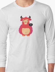 cute monster Long Sleeve T-Shirt