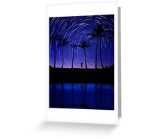 Looking for my lucky star. Greeting Card