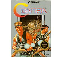 Contra NES Cover Photographic Print