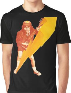 Angus Young Guitar Graphic T-Shirt